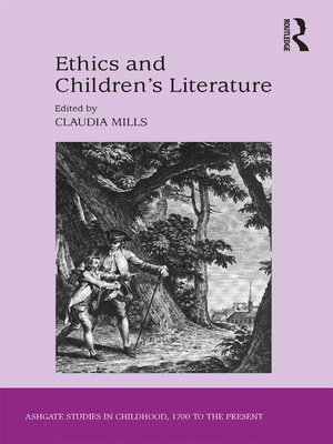 cover image of Ethics and Children's Literature
